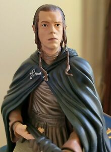 HOBBIT LORD OF THE RINGS Gentle Giant ELROND BUST STATUE