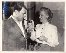 Joseph Mankiewicz Marilyn Monroe RARE Photo candid on set