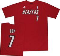 Portland Trail Blazers Brandon Roy Youth Net Print Adidas T Shirt  Clearance