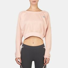 ADIDAS AKTIV COZY CROPPED SWEATER LARGE