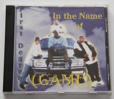 First Degree – In The Name Of The Game [1999] RARE