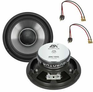 ESX QE120 Lautsprecher Boxen für Mercedes vorne W124 E-Klasse Armaturenbrett