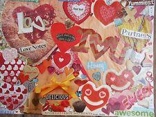 "Sweety. Original art. Paper collage 9 x 12"". By Nancy."