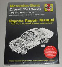 Reparaturanleitung Mercedes W123 Diesel 200 220 240 300 D TD CD, Bj. 1976-85