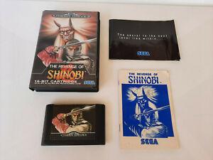 The Revenge of Shinobi, SEGA Mega Drive Game, Complete, Tested