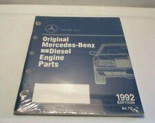 MERCEDES-BENZ Diesel Engine Parts 1992 Edition  **BRAND NEW**