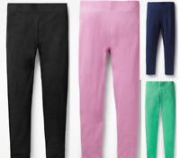 Girls MINI BODEN leggings knee jersey shorts 2-16 years navy black pink
