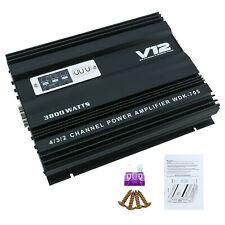 3800W 4 Channel Amplifier Car Audio Amp Subwoofer Speaker