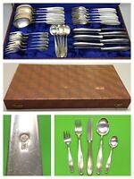 Besteck 90er Silber 6 Personen 30 Teile mit Besteckkasten