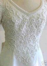 Used FOREVER YOURS Bridal Wedding Dress Size 6 ORIGINALY $1799.99