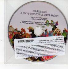 (DS501) Darkstar, A Days Pay For A Days Work - 2012 DJ CD