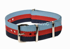 "20mm ""Help for Heroes"" Pattern N.A.T.O Military Watch Strap by MWC of Zürich"