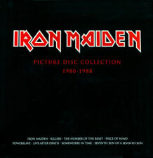 Iron Maiden – Picture Disc Collection 1980-1988 (2012) 9 LP picture disc NEW