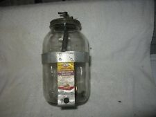 Mopar 1940's 1950's Jiffy Jet Windshield Washer Fluid Jar