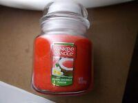 Yankee Candle Usa Rare Guava Coconut Fusion Medium Jar