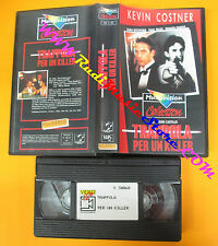 VHS film TRAPPOLA PER UN KILLER Kevin Costner Castillo MULTIVISION (F117) no dvd