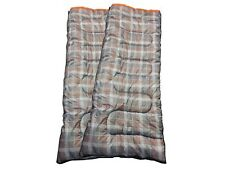 DOUBLE SLEEPING BAG 3 SEASON 300GSM FILL - 2x OLPRO HUSH (PATTERN)