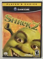 NINTENDO GAMECUBE Wii SHREK 2 GAME COMPLETE WITH MANUAL INSERT