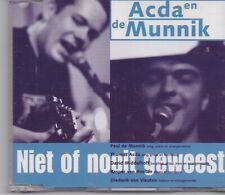 Acda en de Munnik-Niet Of Nooit Geweest cd maxi single