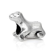 Seal Sea Lion Beach Animal Sea Life Bead for Silver European Charm Bracelets
