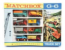 MATCHBOX GIFTSET G-6 * TRUCK SET  * OVP * LESNEY * MINT