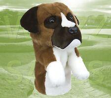 Boxer Dog Daphne's Large Golf Club Driver 1 Wood Headcover 460cc Head