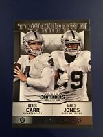 2014 Panini Contenders #7 DAVID CARR Rookie w James Jones Touchdown Tandem