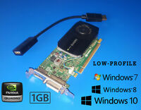 Dell Inspiron 3250 3268 3647 660s 620s 580s 1GB Quadro Video Card + HDMI Adapter