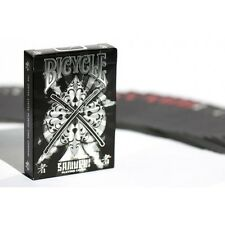 SAMURAI V2 BICYCLE DECK PLAYING CARDS BY USPCC & MARCHAND DE TRUCS MAGIC TRICKS