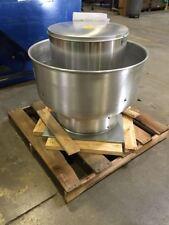Captive Air Upblast Exhaust Fan Belt Drive 1500 Cfm 1272 Rpm 1ph Speed Contro