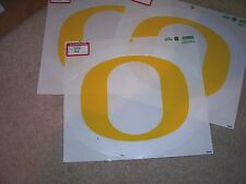 "Oregon Ducks 8 1/4"" x  7"", Logo Window Stickers, outside application, 3 pieces"