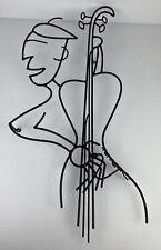 "Barrett DeBusk ""Oscar's All Nude Music Revue"" Artist Proof Sculpture 33"" x 15"""