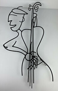 "Barrett DeBusk ""Oscar's All Nude Music Revue"" Artist Proof Sculpture 33"" x 15"""