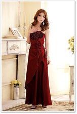 Langes Abendkleid / Ballkleid lang / Abiballkleid in Blau, Lila, Rot Gr. 34 - 52