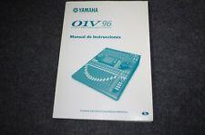 Yamaha 01V96  Manual de Instrucciones