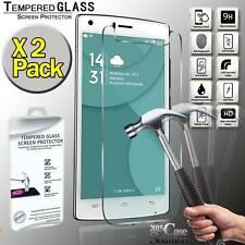X2 Pack Premium Real Tempered Glass Film Screen Protector for Doogee X5 Max Pro