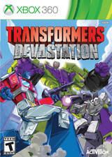 Transformers Devastation Xbox 360 New Xbox 360, Xbox 360