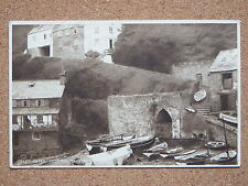 R&L Postcard: Crazy Kate's Cottage Clovelly, Rowing Boats, Daily News