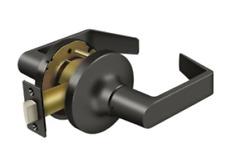 Passage Door Lock Set Grade 1 Commercial Lever Keyed in 3 Finishes By FPL Door