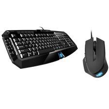 Sharkoon Skiller inkl. Shark Force, Gaming Maus-Tastatur-Set