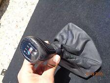2006-2011 BMW E90 E92 E93 335i 328i 330i 325i LEATHER SHIFTER KNOB 6-SPEED