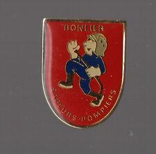 Pin's pompier / Sapeurs pompiers de Bonlier (Oise)
