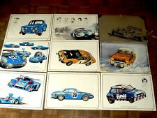 Porfolio Auto Renault Sport Alpine R5 Turbo F1 R4 R12 R8 Gordini An 80 poster