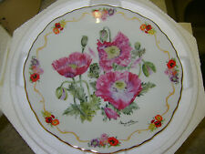 Collector plate - Opium Poppy