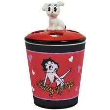 New BETTY BOOP Toothbrush Holder SEXY POSE Figure PUDGY BIMBO DOG Bathroom Red