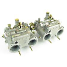 Pair of Dellorto DHLA40H Alfa Romeo Alfetta/GTV Turbo Carburettors (NOS)