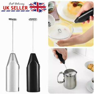 Mini Kitchen Electric Egg Beater Hand Milk Shake Whisk Mixer Coffee Frother Tool