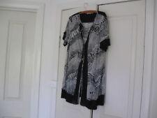 Plus Size Geometric Basic Coats & Jackets for Women