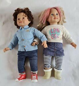 Zapf Creation Puppen SAM und SALLY  ca. 60 cm