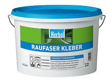 Herbol Rauhfaser Kleber 16 kg Rauhfaserkleber Tapetenkleister Fertigkleister